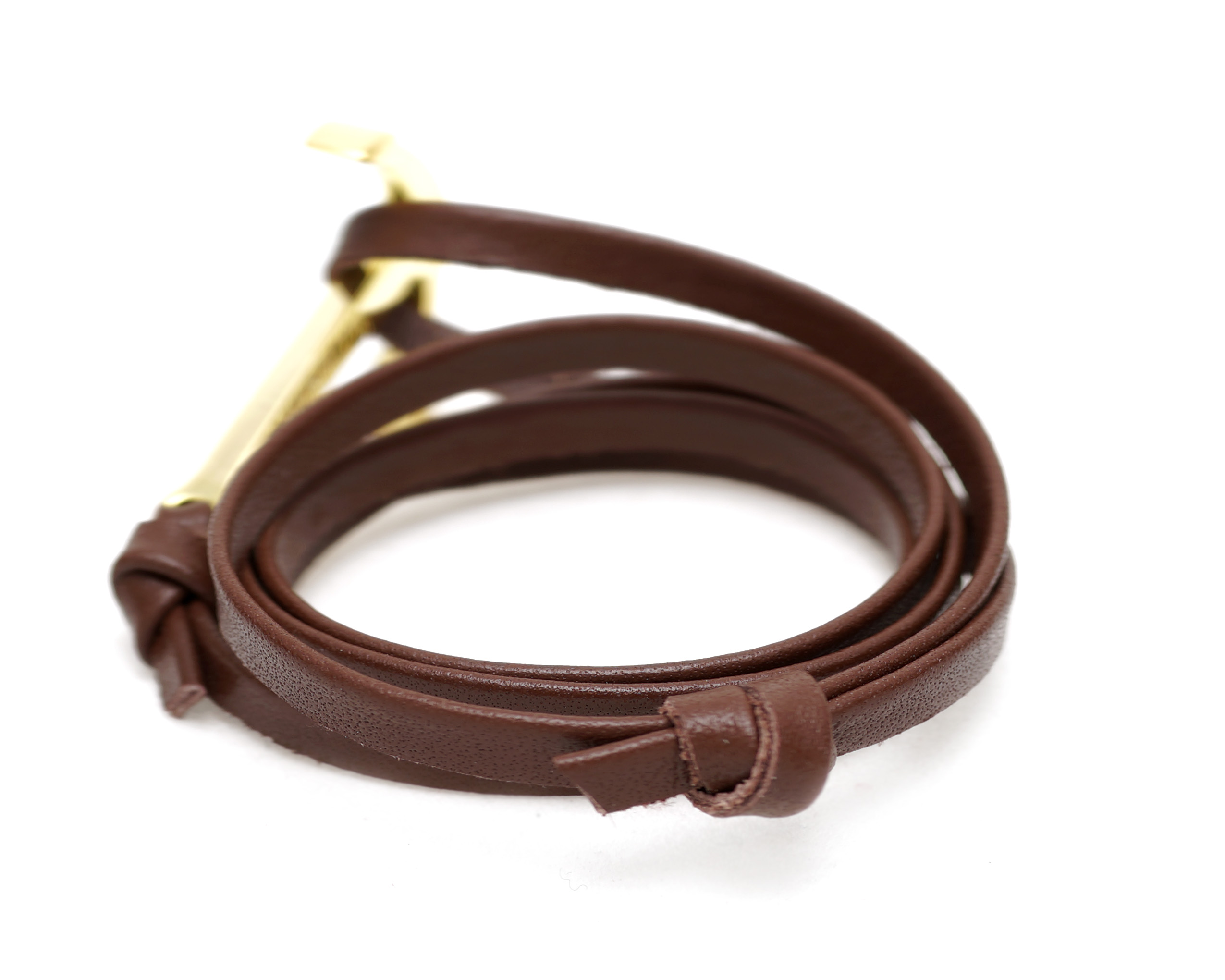 Leather Anchor Bracelets